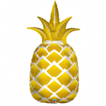 Golden Pineapple Large Foil Balloon 1pc